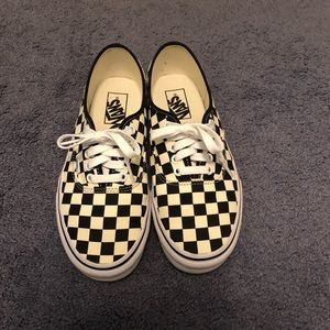 Vans Authentic Checkerboard Women's 8.5 Mens 7.0